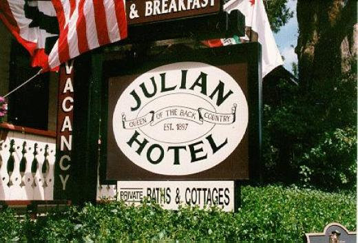 Julian hotel ghost
