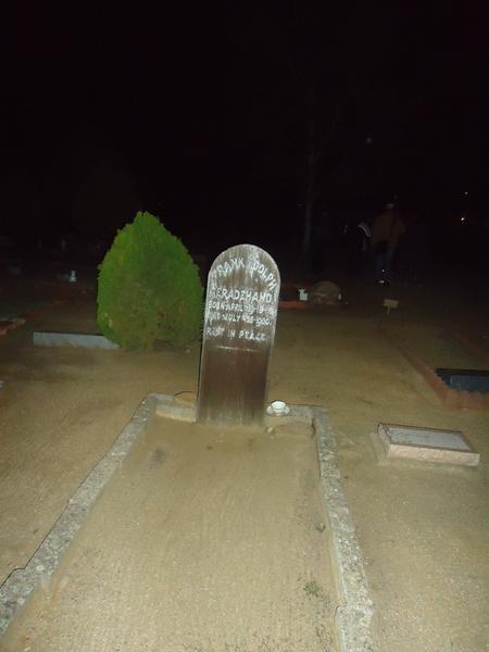 Alpine Cemetery Grave
