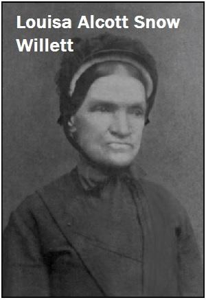 Louisa Alcott Snow aquilla Willet