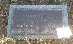 clovis hill marker