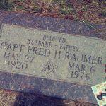 Fred h Raumer headstone