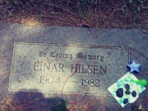 einar hilsen headstone