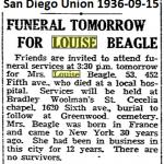 louise beagle obituary