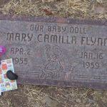 mary camilla flynn head stone