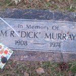 mr dick murray head stone