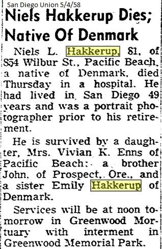 niels hakkerup obituary